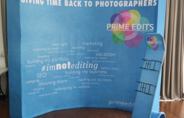 Prime Edits 8×10 Curved Velcro Popup
