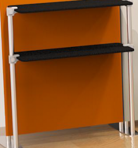 double shelf panel