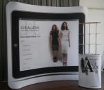 Lola and Lesa 8ft Display and Oval Display Rack