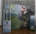 Butora S Shape Lit Stand Display Rack