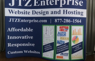 JTZ Enterprises 10ft S-Shaped Display