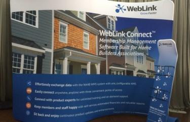 Weblink Intl 10ft Curved Lit Stand